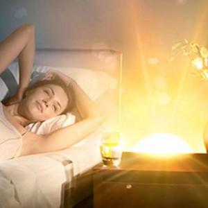 Sunrise Clock on bedside