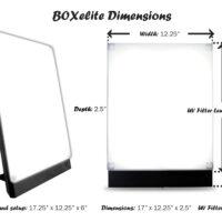 BOXelite Dimensions